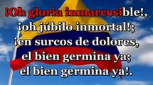Himno nacional de Colombia - Karaoke