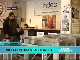 Argentine Opposition, Consultancy Firms Fabricate Inflation Numbers