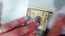 50 Dollar Bill is actually a 10 Dollar Bill [Fake Dollar Bill]