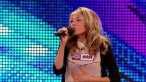 Paige Turley - Skinny Love - Britain's Got Talent 2012