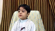 Best speech by A very small child SUBHAN ALLAH! |Islamic speech| |very small child deliver speech|