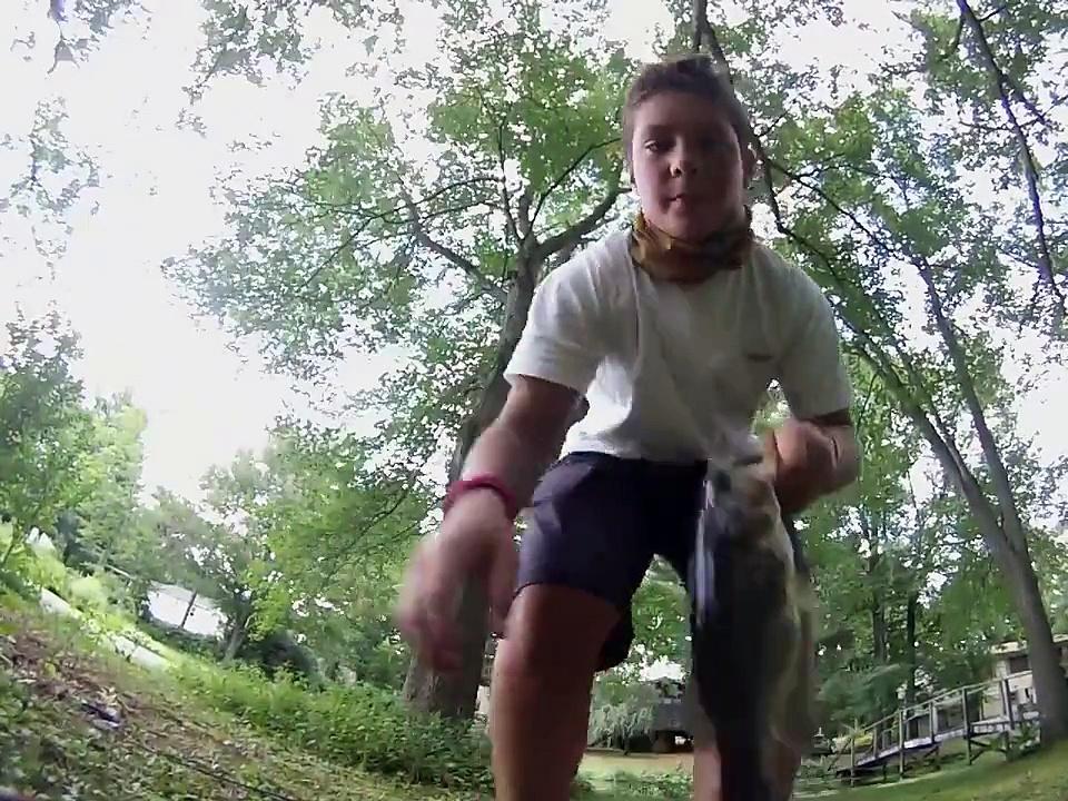 Summertime Bass Fishing