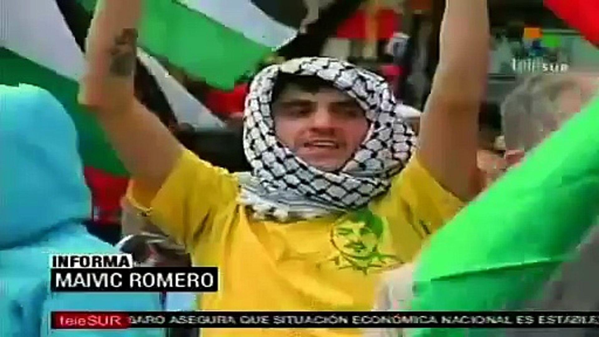 Repudian en América Latina política de Israel respecto de Palestina
