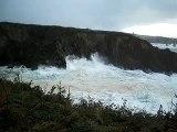 Temporal Mar Cantábrico (Ribeira Nova - Las Poleas)(Tapia De Casariego - Asturias)