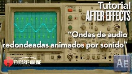 Crear ondas de audio para animar osciloscopio - Tutorial After Effects