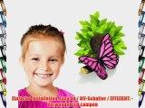 3D-Deko-Licht ~ ~ ~ ~ rosa Schmetterling Sieht aus wie der Zweig aus der Wand w?chst! ~ ~ Spielzimmer