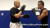 Boxing Drills 2 Focus Mitts Boxing Pad Work Drills Focus Mitt Drills MMA Training Combination Tips