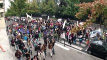 Indignés VS clowns, Marches des Indignés jusqu'à Bruxelles 17 septembre V 0.1