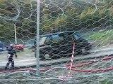 No Tav: carabiniere in mimetica insulta No Tav da furgone, ottobre 2011