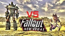 Liberty Prime vs Gojira in Fallout: New Vegas