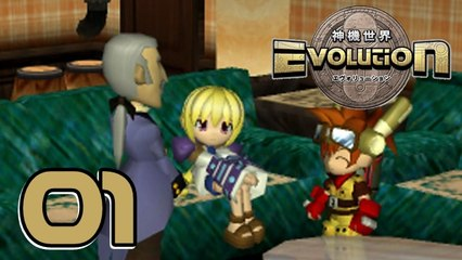 Lets Play - Evolution | The World of Sacred Device [01] Neue Freunde