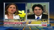 Dr.Majid Rafizadeh,CNN with Hala Gorani US foreign policy, Iran Expert