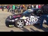 Nissan Skyline R33 & S14 Drift [zakończenie sezonu Grzybów 21.10.2012]