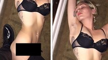 Miley Cyrus PULLS HER PANTS Down