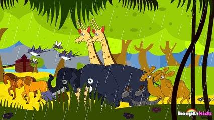 国语童谣   Animals Went In Two by Two   Nursery Rhymes in Mandarin by HooplaKidz Mandarine
