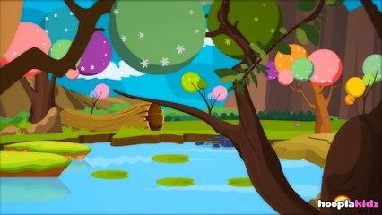国语童谣 | Five Little Speckled Frogs | Nursery Rhymes in Mandarin by HooplaKidz Mandarin