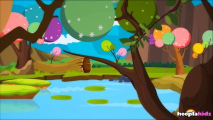 国语童谣   Five Little Speckled Frogs   Nursery Rhymes in Mandarin by HooplaKidz Mandarin