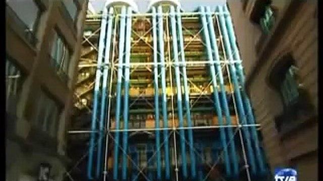 Arquitecturas: Centro Georges-Pompidou I