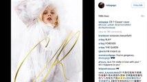 Lady Gaga porte une robe de mariée sur la couverture de CR Fashion Book