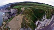 HD - Etretat et ses falaises par drone - Version longue - DJI Phantom
