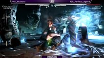 Mortal Kombat X (MKX): Epic Gamer Tourney - Perfect Legend (Kung Lao) VS Mustard (Shinnok)!