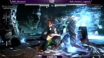 Mortal Kombat X (MKX): Epic Gamer Tourney - Perfect Legend (Kung Lao) VS Mustard (Shinnok)!