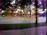 CSX FREIGHT & BNSF COAL TRAIN HOLLAND MICHIGAN.wmv