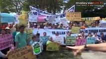 Pengerang folks rally against gas refinery