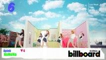 [Kpop] Crayon Pop Bar Bar Bar Billboard Korea K-POP Hot100 Top9 080713