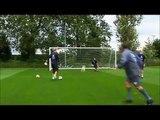Manchester City Goalkeeping Training