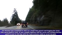 Highway 1 South (Malahat Drive, Trans-Canada Highway) - Mill Bay Road to Spencer Road