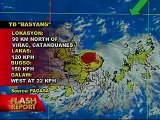 Typhoon Basyang prompts DepEd to suspend elementary classes - also known as Typhoon Conson