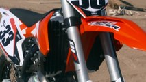 VIDEO: 2016 KTM 450 SX-F Web Test
