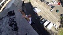 Paris : ces acrobates urbains sautent de toit en toit
