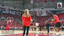 Incoming freshman sinks half court shot, gets free tuition