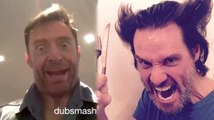 Hugh Jackman and Jim Carrey Impersonate Each Other