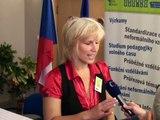 Zahajovací konference - Klíče pro život: Tisková konference - Mgr. Irena Obrusníková