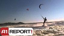 A1 Report - Shtegtim, Kite surf