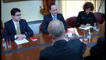 Moore me krerët më të lartë të vendit.Zyrtari i lartë i DASH, përfundon vizitën zyrtare në Tiranë