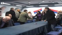 Komunat serbe në veri të Kosovës. Përurohen sipas simboleve të Kosovës, por të mbuluara