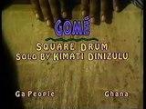 Nana Kimati Dinizulu Rare Foot Drum Solo