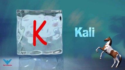 K Alfabeti Shqip shkronja K