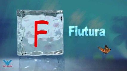 F  Alfabeti Shqip shkronja F