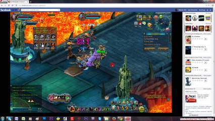 Talsarah in battle gameplay Odin quest on gamebox part 3
