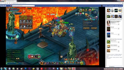 Talsarah in battle gameplay Odin quest on gamebox part 5