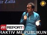 A1 Report - Rreze Dielli dt 04 Shkurt 2014 Teater ,Stand Up