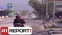 A1 Report - Aksi Fushe-Kruje - Thumane, prej vitesh mes baltes dhe gropave