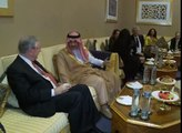 Prince Alwaleed Bin Talal Speaks at Forbes CEO Conference with Steve Forbes in Dubai P .1/3