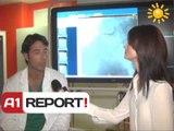 A1 Report - Rreze Dielli dt 15 Prill 2014  Mjeku per ju Spitali Europian i Tiranes