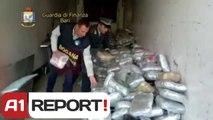 A1 Report - Bari, kapen 1.3 ton droge nisur nga Durresi, ja emri i shoferit